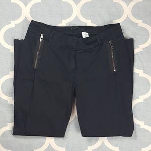 J. Crew Pants - J. Crew City Fit dress pants career capri black 6